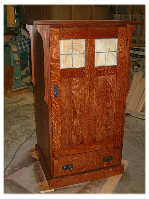 Mission Arts And Crafts Entertainment Center